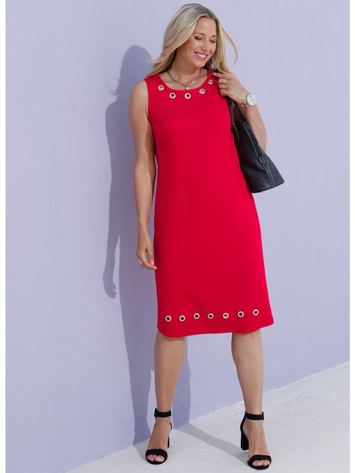 Blazer und Kleid Kleid mit modischen Ösen