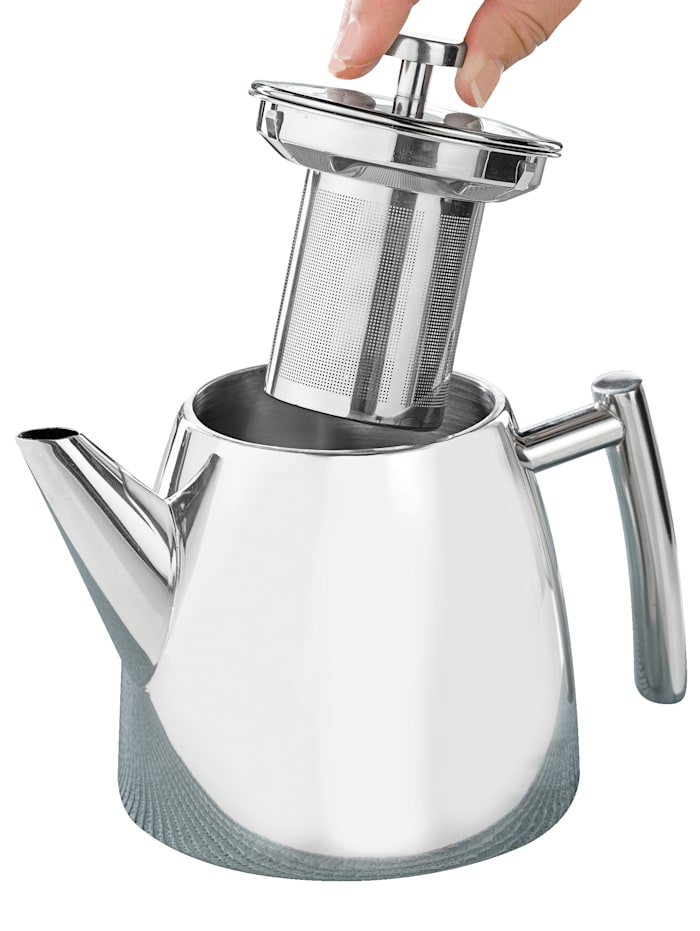 Esmeyer Teekannu, hopeanvärinen