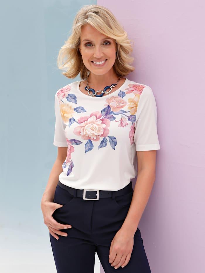 T-shirt imprimé d'un motif floral