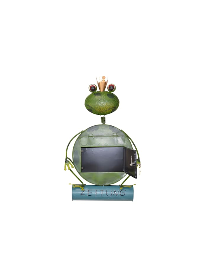 Metallbriefkasten Frosch