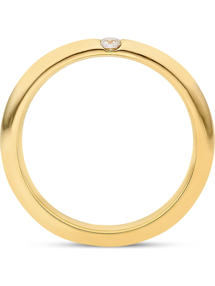 CHRIST Diamonds Damen-Damenring 1 Diamant