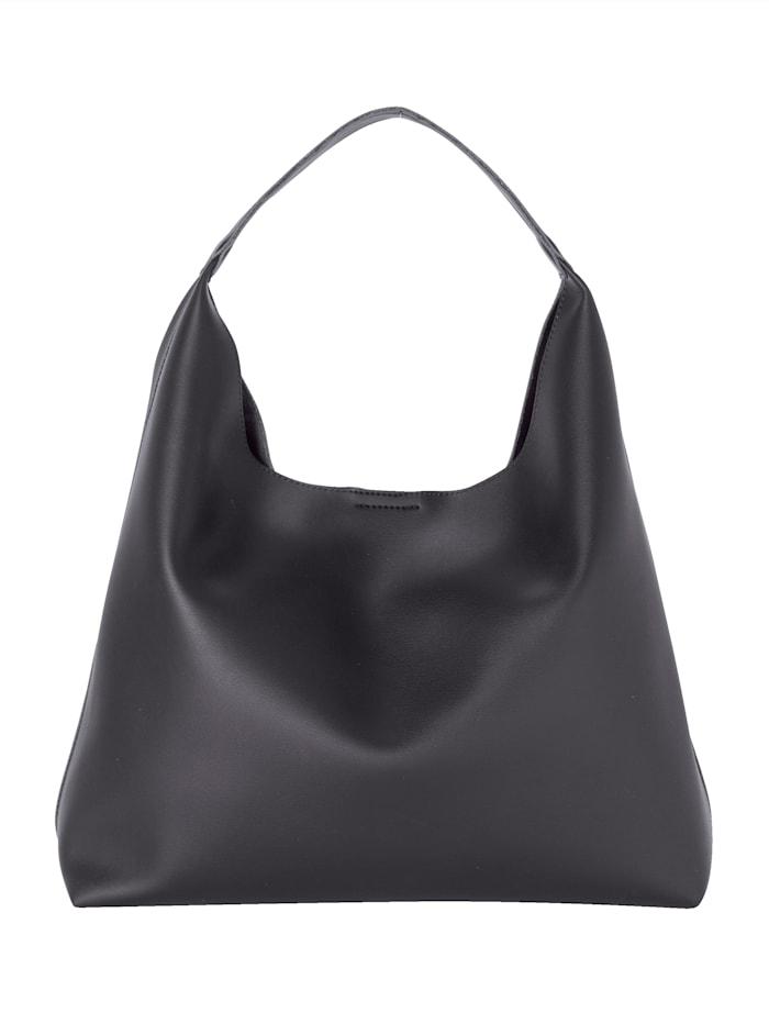 Shopperi – mukana pienempi, hihnaton laukku 2-osainen