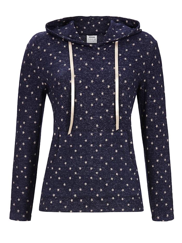 Pullover in Strick-Qualität