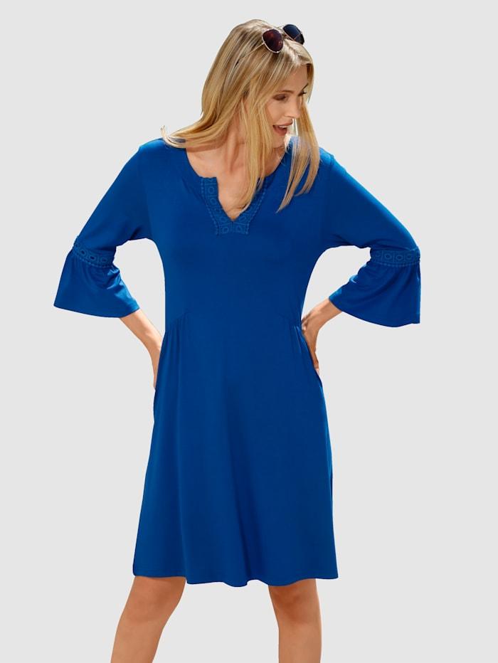 Comodo Plážové šaty s čipkovým lemovaním, Kráľovská
