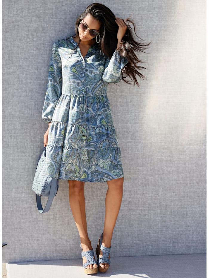AMY VERMONT Kleid mit Paisley-Druck, Multicolor
