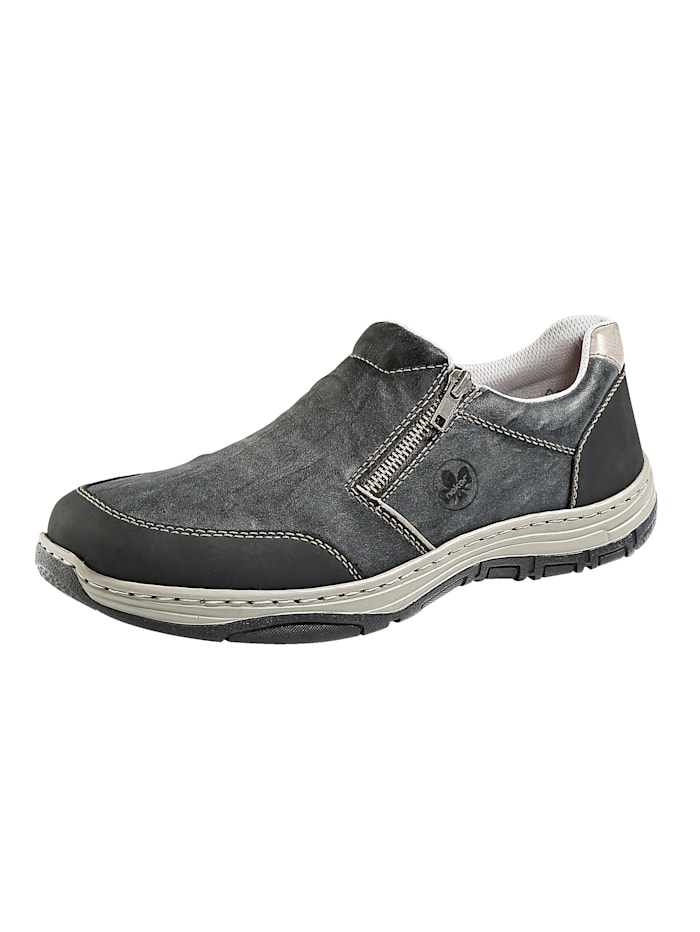 Slipper obuv s 2 praktickými zipsami