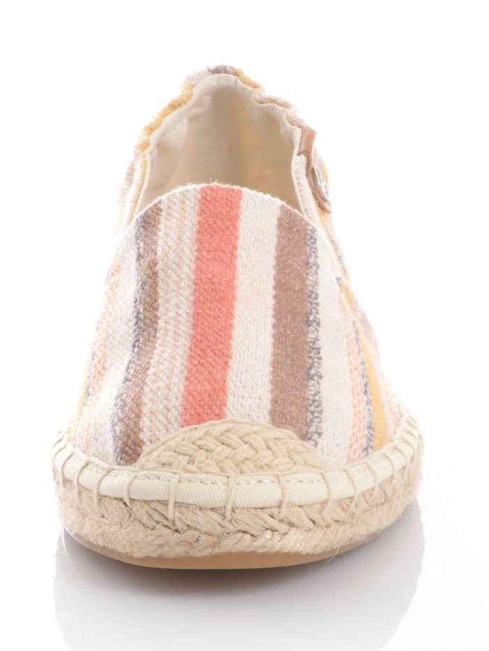Espadrille aus Textil