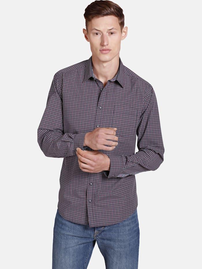 Shirtmaster Shirtmaster Hemd nolumberjackhere, dunkelblau
