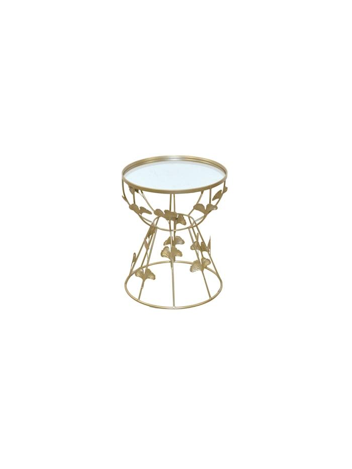 Möbel-Direkt-Online Beistelltisch Sonja, goldfarben