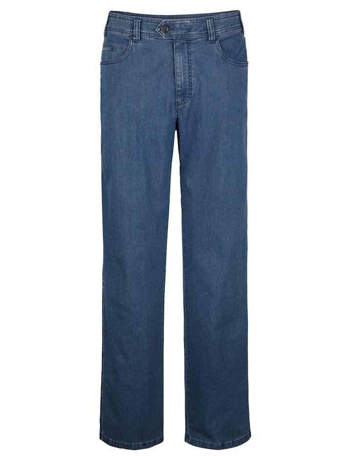 Brühl Jeans i temperaturutjämnande material, Light blue