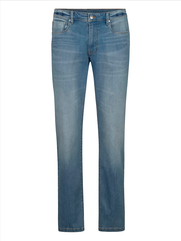 BABISTA Jeans in moderne used look, Blauw