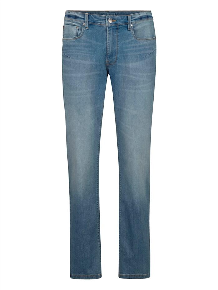 BABISTA Jeans in moderner Used-Optik, Blau