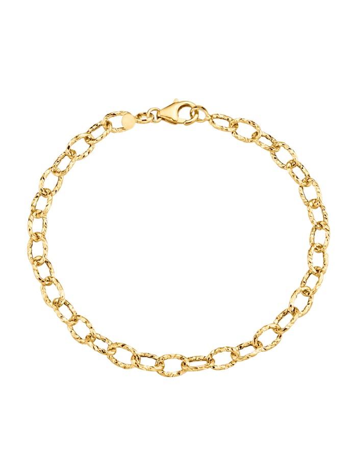 Ankerarmband in Gelbgold 585, Gelbgoldfarben
