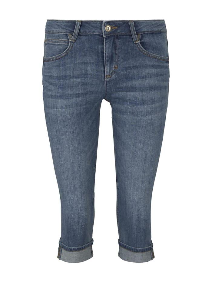 Carrie Slim Capri-Jeans