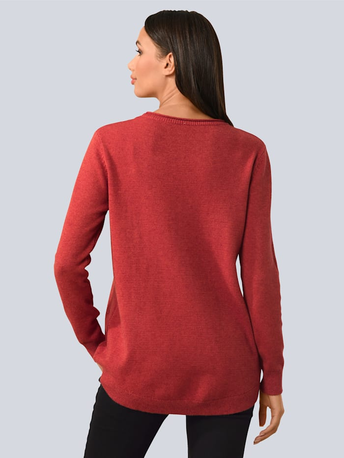 Pullover mit Eingrifftaschen