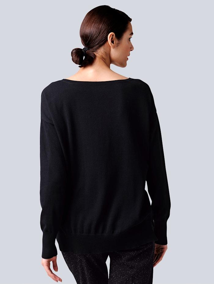 Pullover aus reiner Baumwollqualität