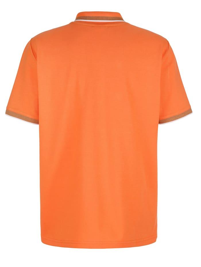 Poloshirt mit Kontraststreifen