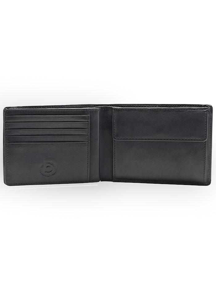 Primo Geldbörse Leder 12 cm