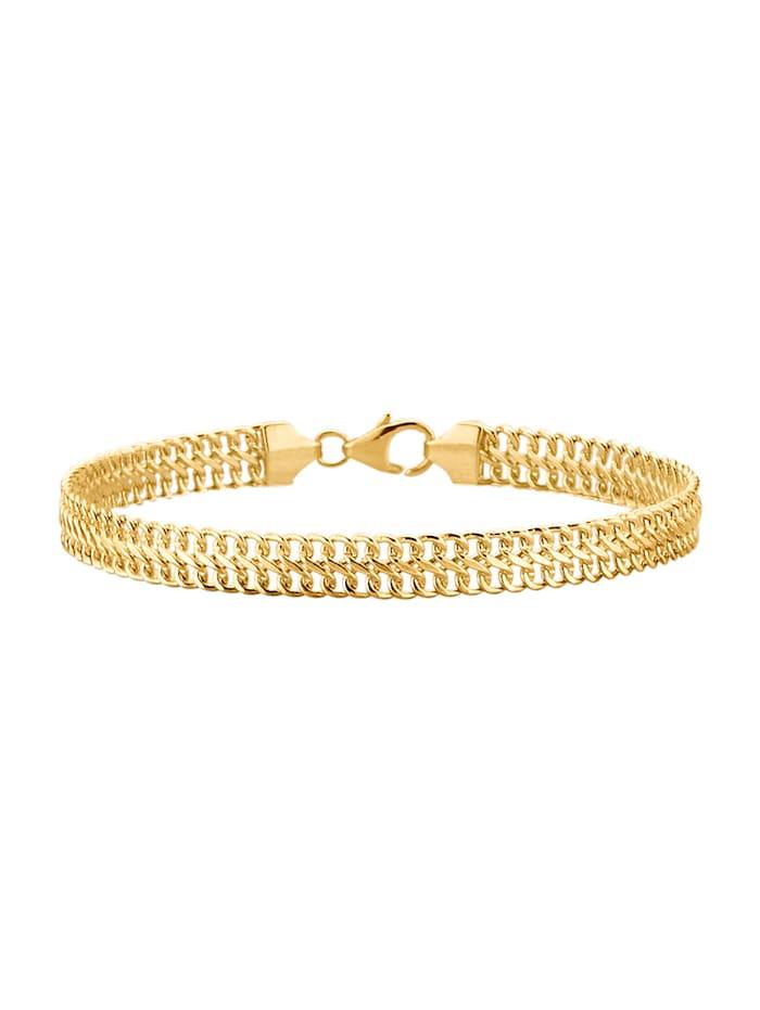 Diemer Gold Gourmettearmband van 14 kt. goud, Geelgoudkleur