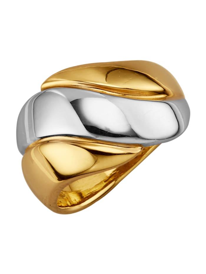 Diemer Gold Damenring, Gelb