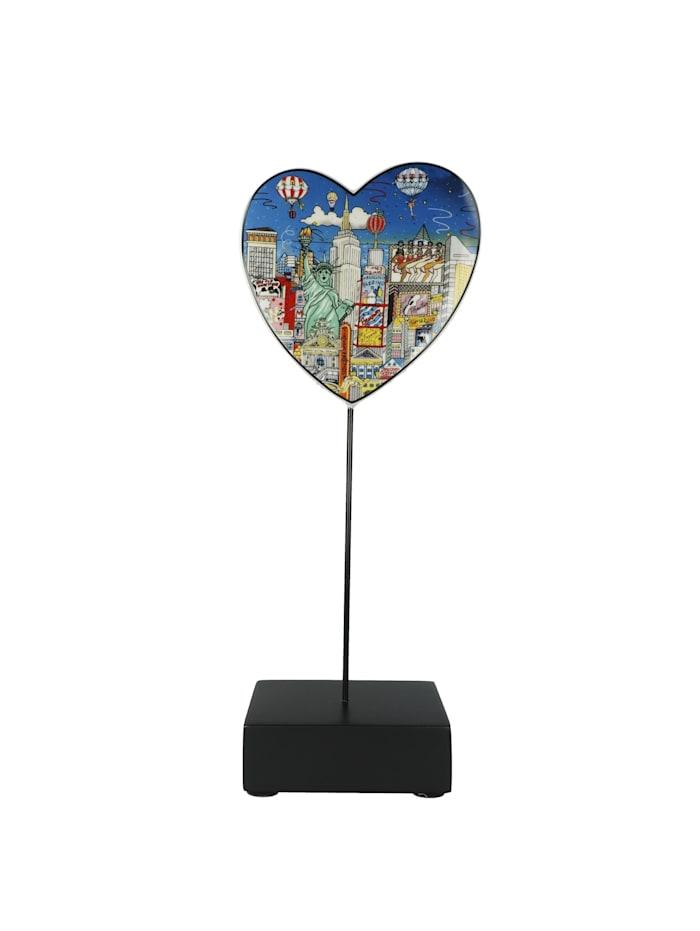 "Goebel Goebel Figur Charles Fazzino - ""Ballon ride over New York"", Bunt"
