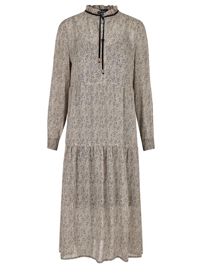 Daniel Hechter Trendiges Kleid mit Minimalprint, iron