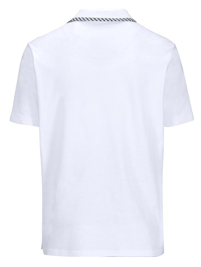 Poloshirt met borstzak met fraaie sluiting