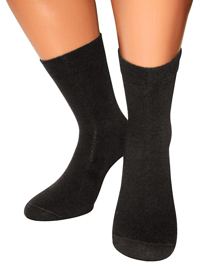 GoForm Sokken voor diabetici, Zwart