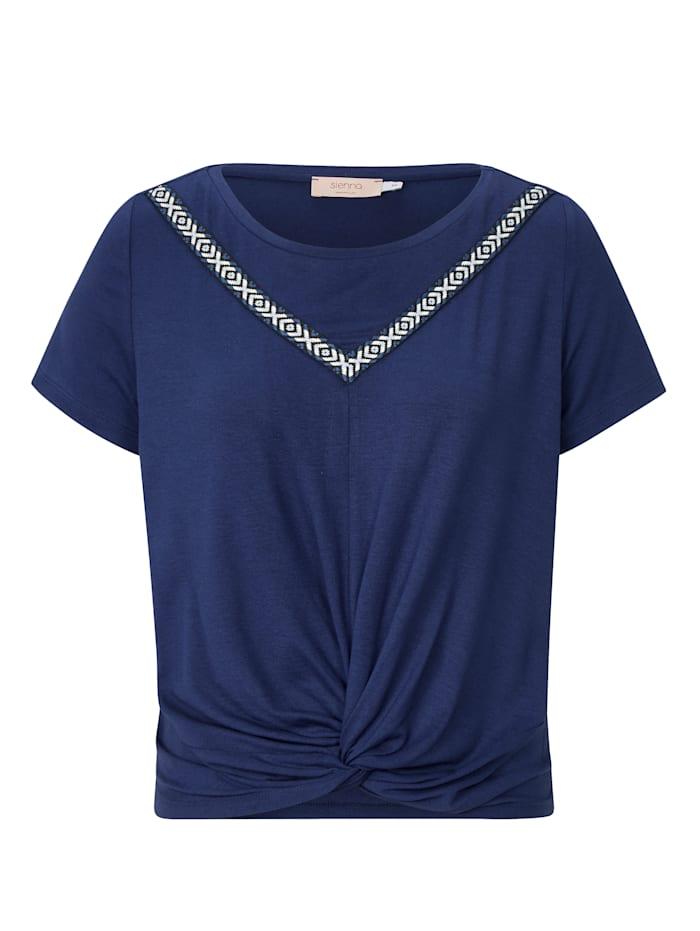 REKEN MAAR Shirt, Nachtblau