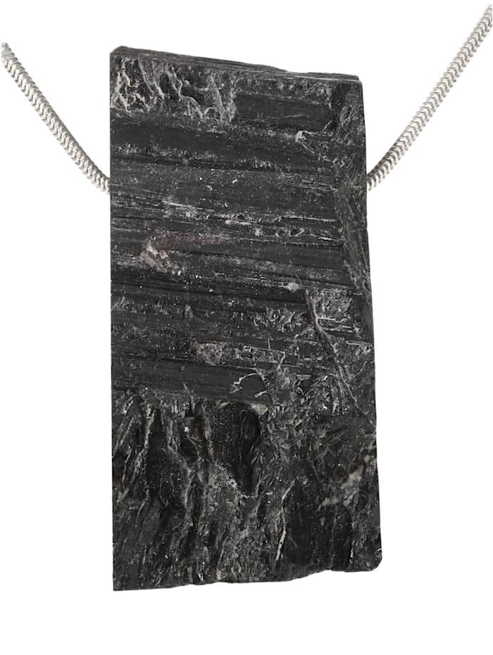 1001 Diamonds Turmalin schwarz Anhänger, schwarz