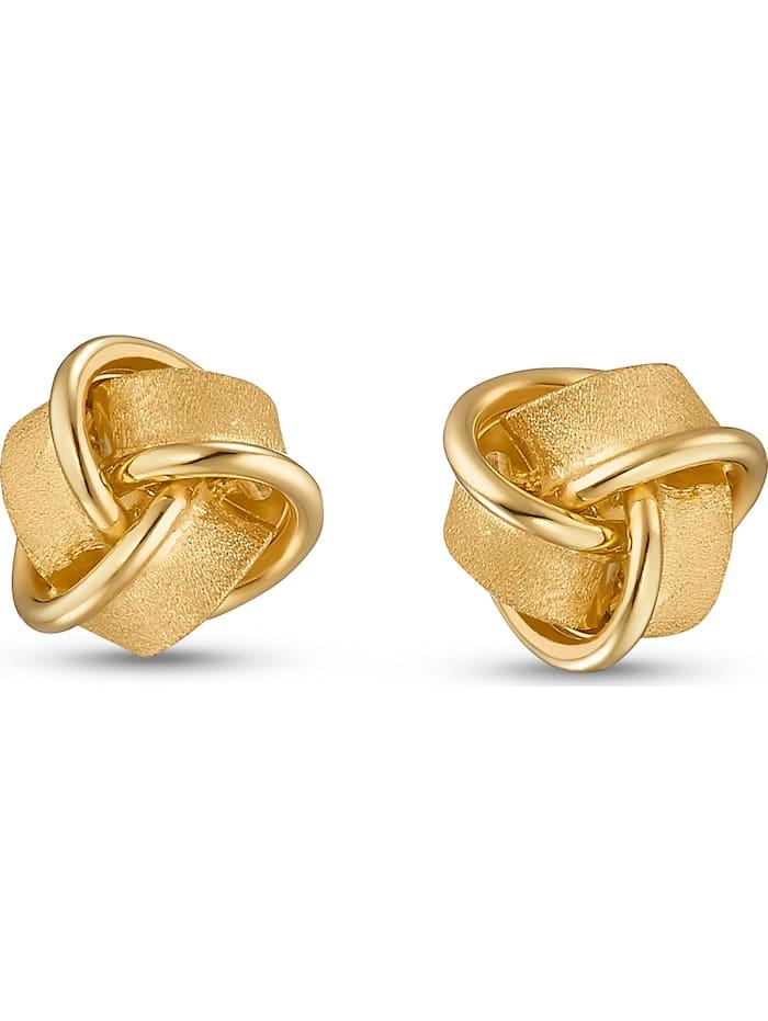CHRIST C-Collection CHRIST Damen-Ohrstecker 585er Gelbgold, gold