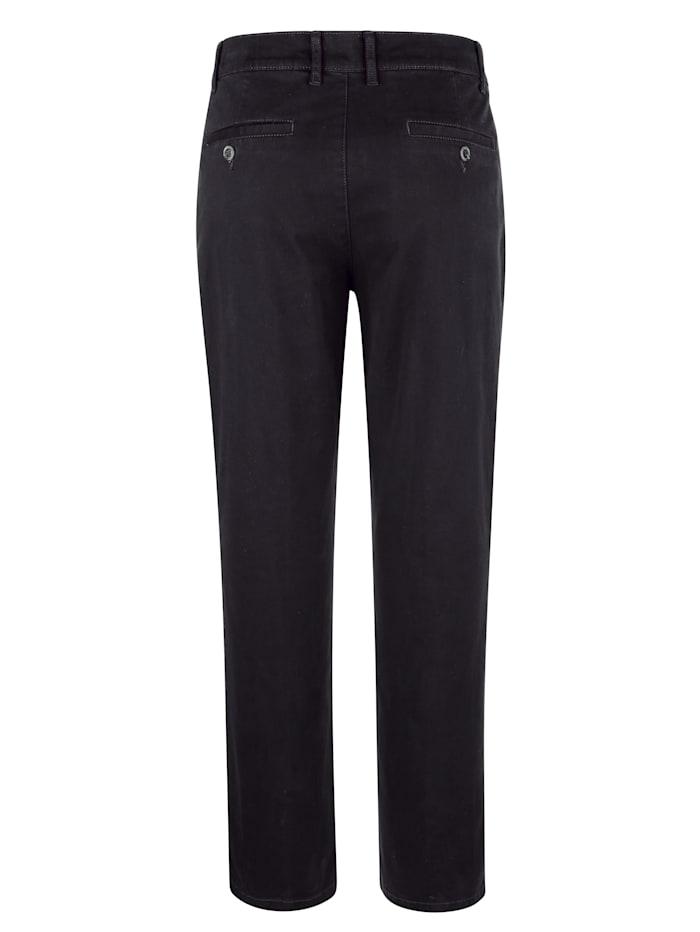 Bukse med flat front