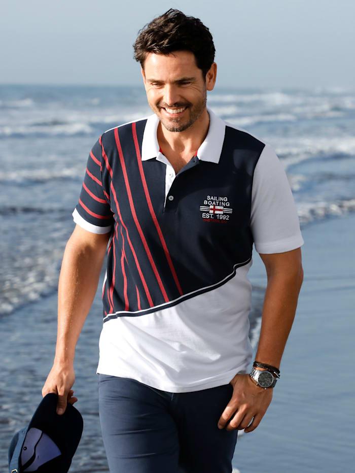 Poloshirt in Piqué-Qualität