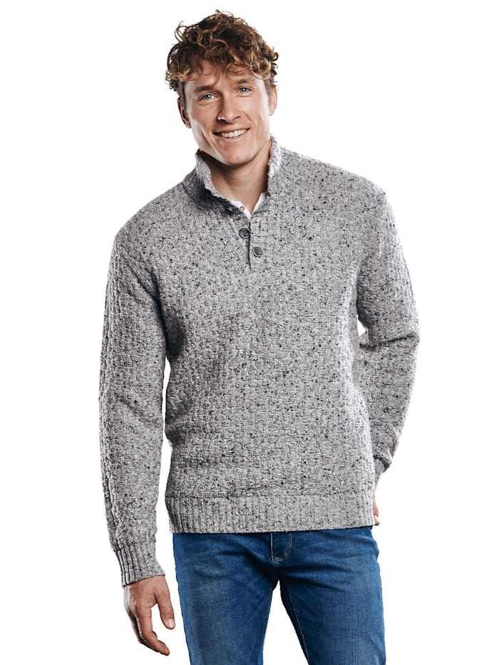 Engbers Hochwertiger Pullover, Silbergrau