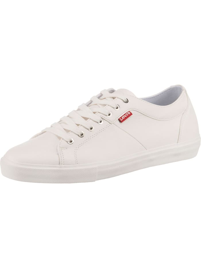 Levi's Woodward Sneakers Low, weiß