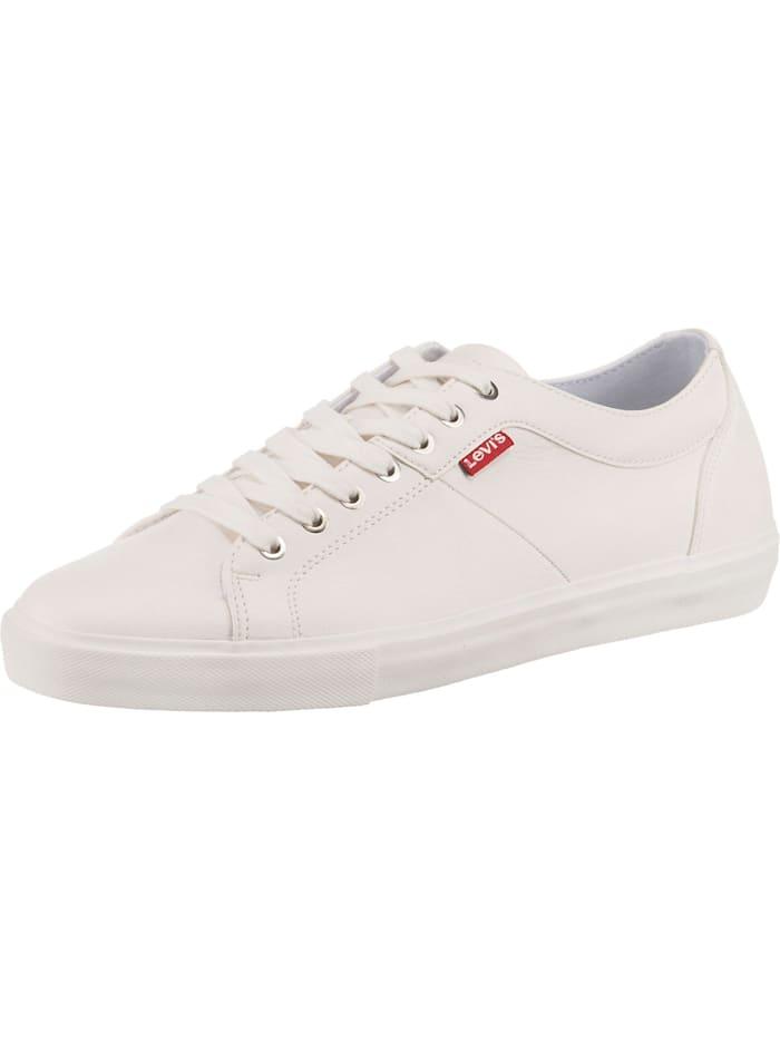 Levi's Woodward Sneakers Low, weiß