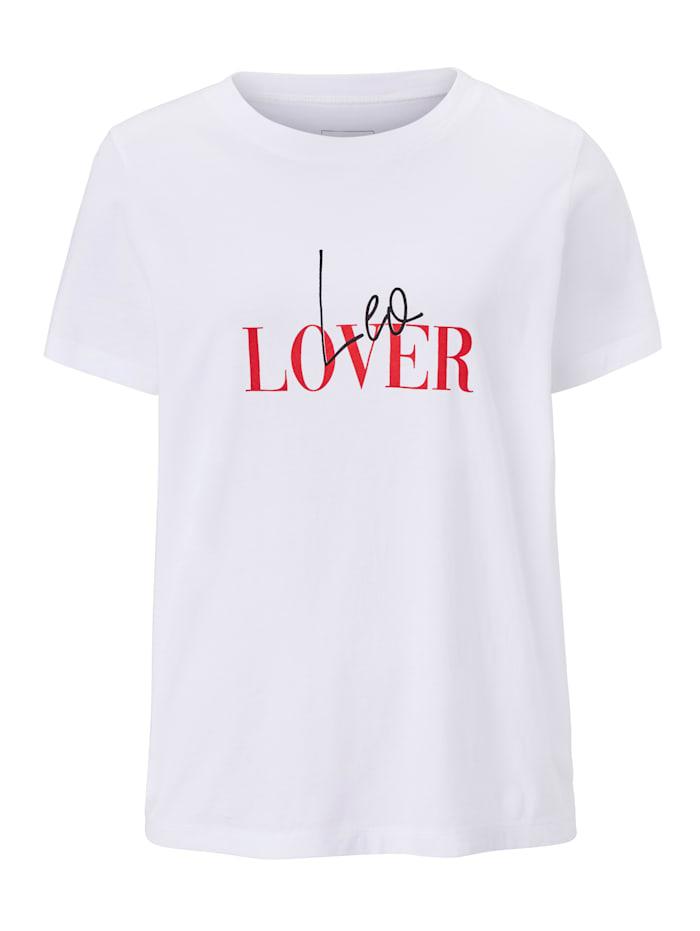 Bloom T-Shirt, Weiß
