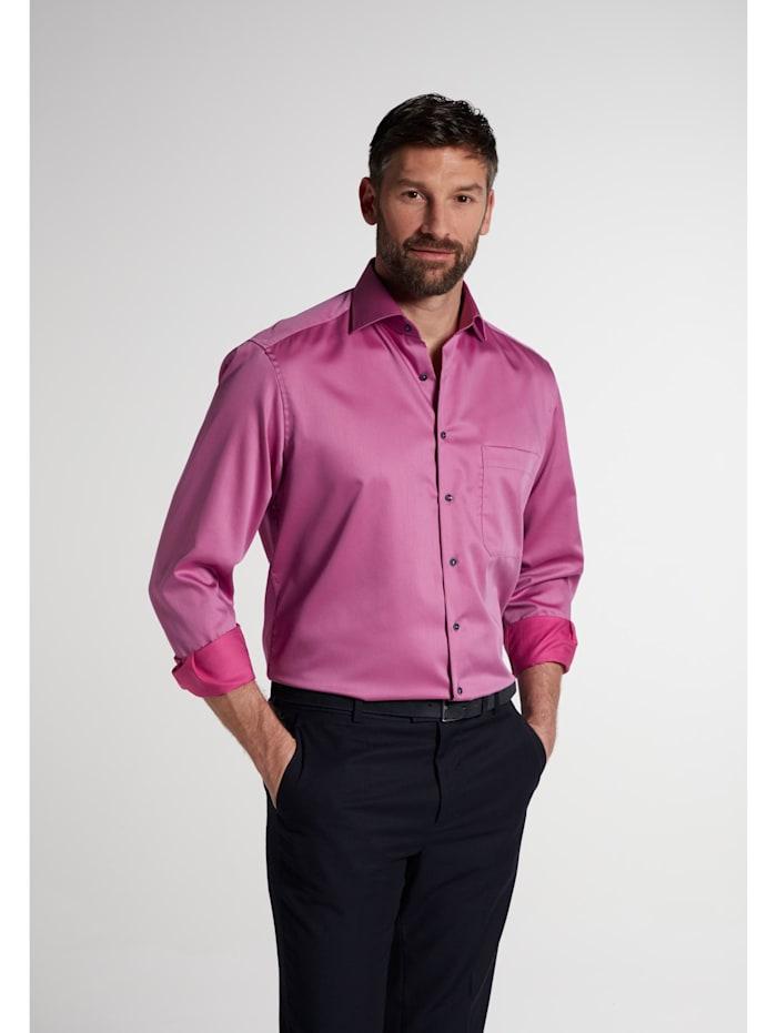 Eterna Eterna Langarm Hemd COMFORT FIT, violett