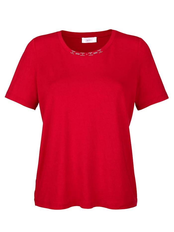 MONA Shirt in trageangenehmer Jersey-Qualität, Rot
