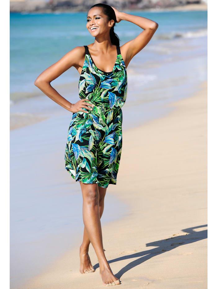 Strandkleid mit Wasserfallausschnitt