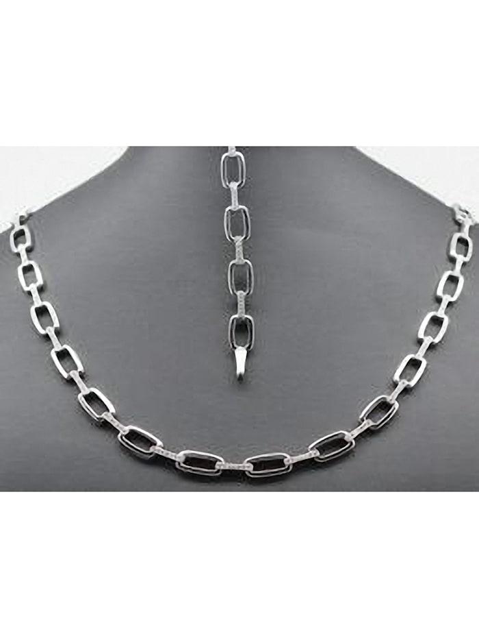 One Element Damen Schmuck Armband aus 925 Silber Zirkonia 19 cm, silber