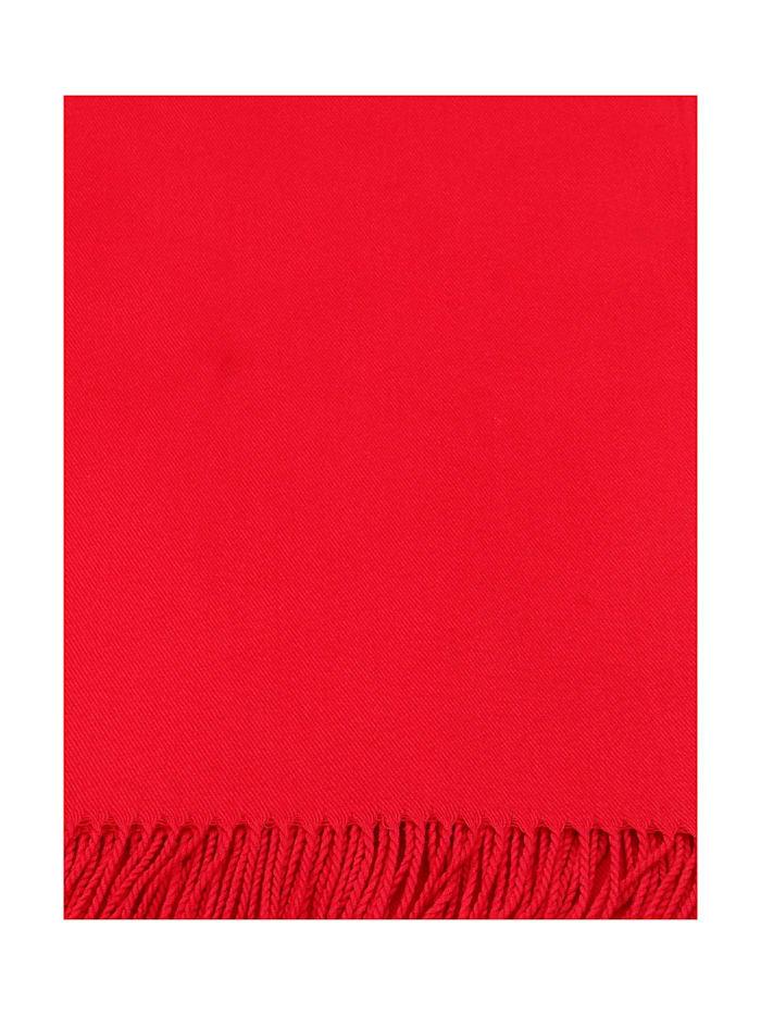 Schal mit gedrehten Fransen