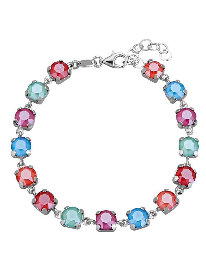 AMY VERMONT Armband mit Kristallen, Multicolor
