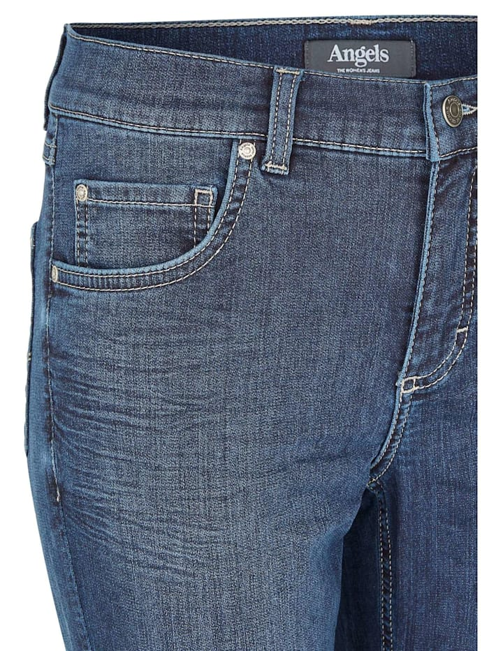 Jeans 'Skinny' in Coloured Dneim