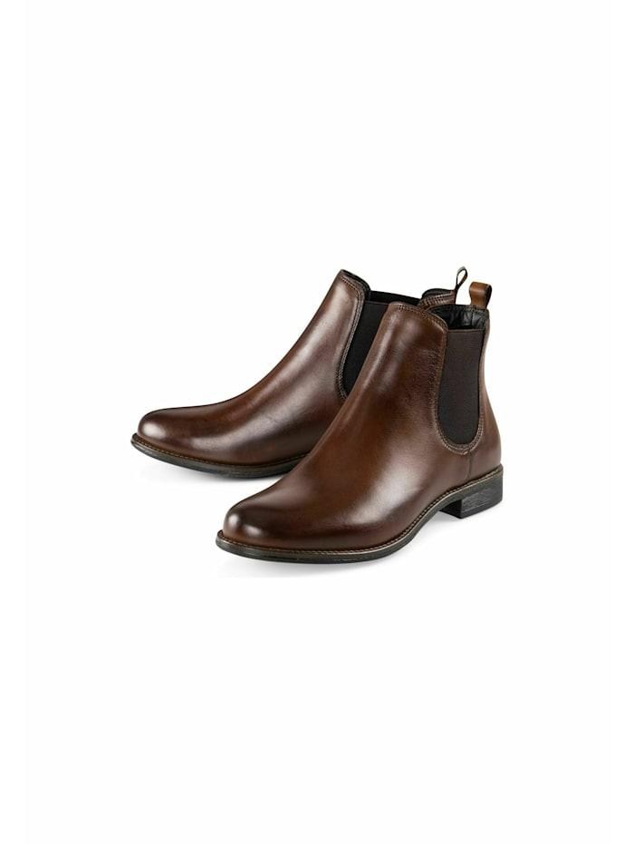 COX Chelsea Boots Chelsea-Boots, dunkelbraun