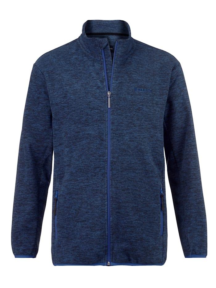BABISTA Fleece vest in gemêleerde look, Blauw