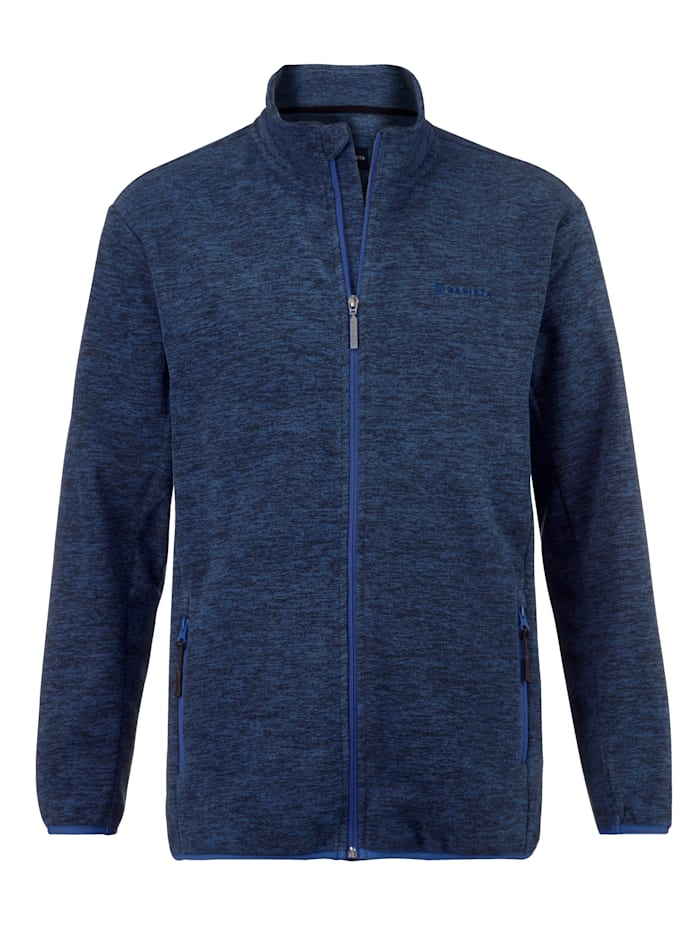 BABISTA Fleecejacke in melierter Optik, Blau