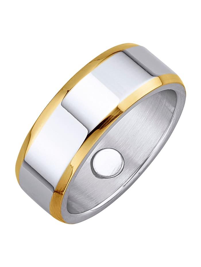 Magnetic Balance Dámský prsten, ušl. ocel, Stříbrná