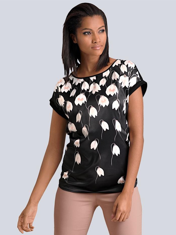 T-shirt à superbe imprimé floral