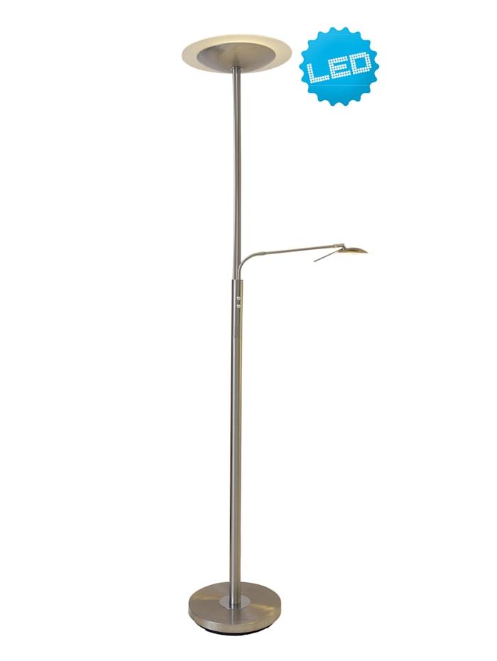 Näve LED-Stehleuchte 'Dana', metall blank